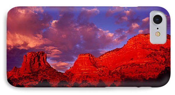 Rocks At Sunset Sedona Az Usa IPhone Case