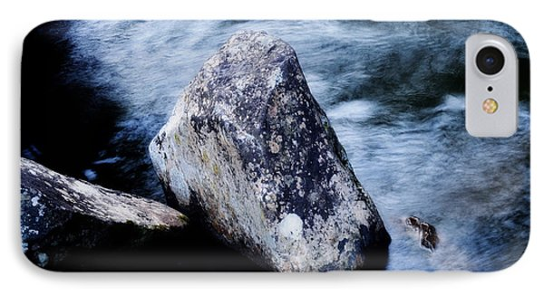 Rocks At The Falls Phone Case by Adam LeCroy