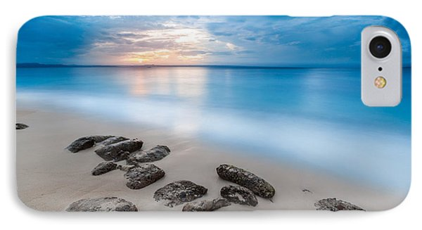 IPhone Case featuring the photograph Rocks By The Sea by Mihai Andritoiu