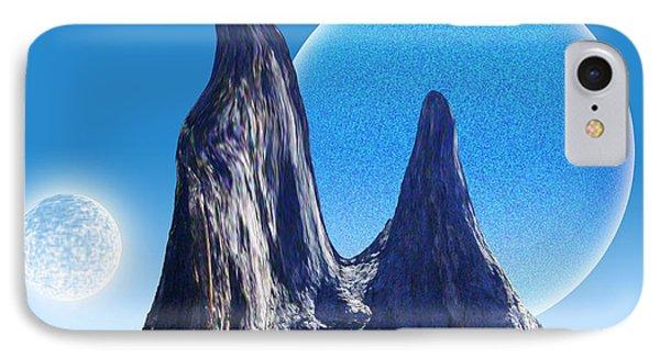 Rocks In The Desert Phone Case by Piero Lucia