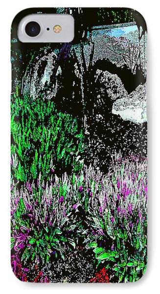 IPhone Case featuring the photograph Rocks In The Garden by Merton Allen