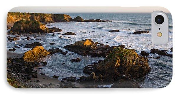 Rocks On The Coast, Cambria, San Luis IPhone Case