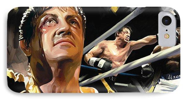 Rocky Artwork 1 IPhone Case
