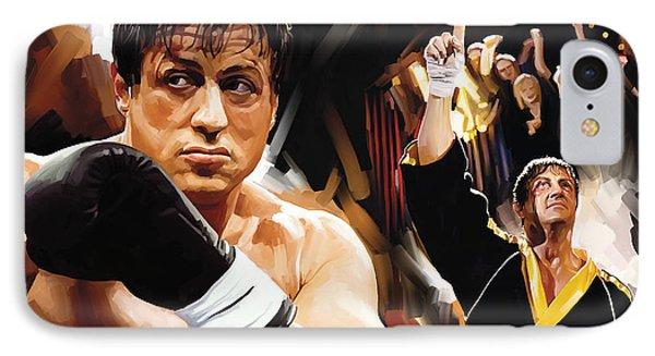 Rocky Artwork 2 IPhone Case