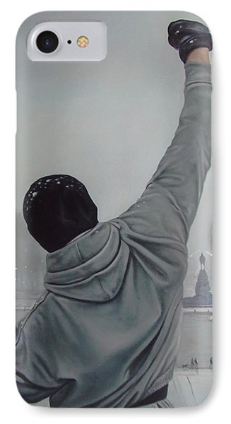 Rocky Balboa IPhone Case by Riard