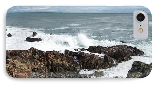 Rocky Coast IPhone Case by Catherine Gagne