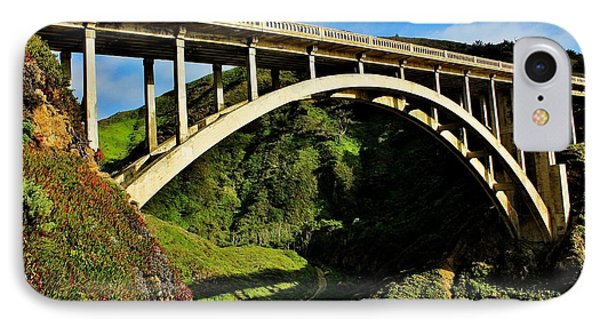 Rocky Creek Bridge Phone Case by Benjamin Yeager