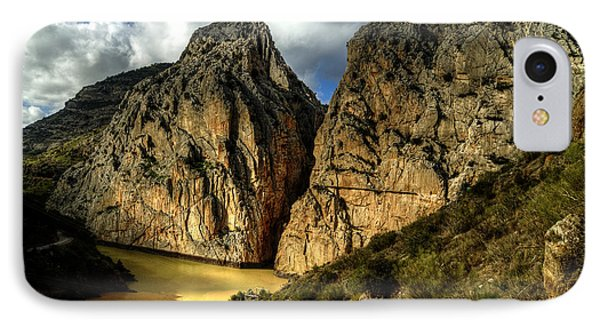 IPhone Case featuring the photograph Rocky El Chorro In Andalusia by Julis Simo