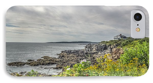 IPhone Case featuring the photograph Rocky Maine Shoreline by Jane Luxton
