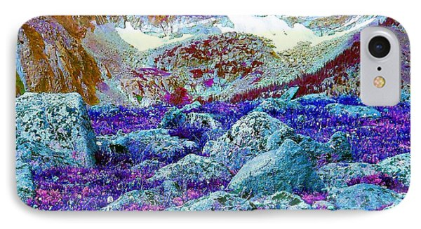 IPhone Case featuring the photograph Rocky Mountain Boulders by Ann Johndro-Collins