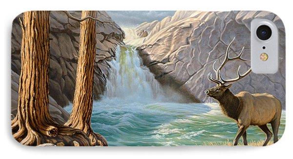 Rocky Mountain Elk Phone Case by Paul Krapf