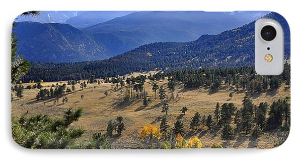 IPhone Case featuring the photograph Rocky Mountain Evening by Nava Thompson