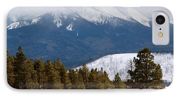 Rocky Mountain High IPhone Case by Bob Pardue