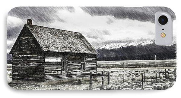 Rocky Mountain Past Phone Case by John Haldane
