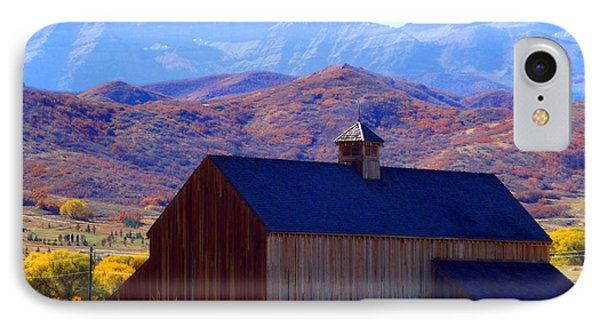 IPhone Case featuring the photograph Rocky Mountain Retreat by Jackie Carpenter