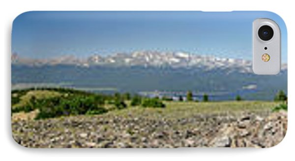 Rocky Mountain Rooftop Panoramic Phone Case by Jeremy Rhoades