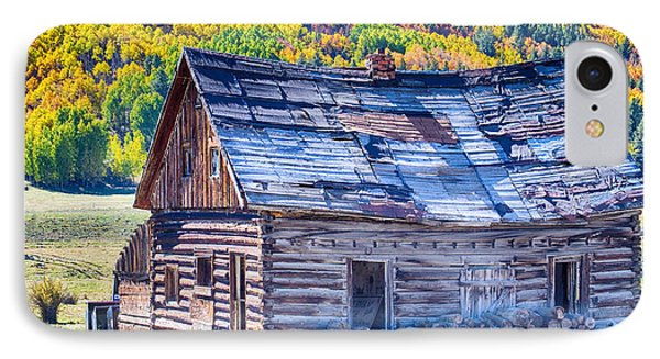 Rocky Mountain Rural Rustic Cabin Autumn View Phone Case by James BO  Insogna