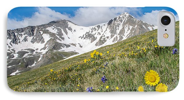 Rocky Mountain Springtime IPhone Case by Aaron Spong