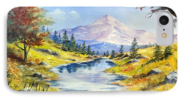 Rocky Mountain Stream Phone Case by Lee Piper