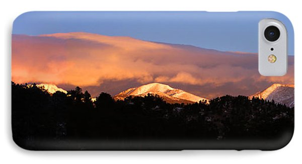 IPhone Case featuring the photograph Rocky Mountain Sunrise by Craig T Burgwardt