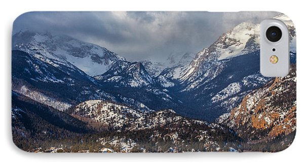 Rocky Mountain Weather IPhone Case by Darren  White