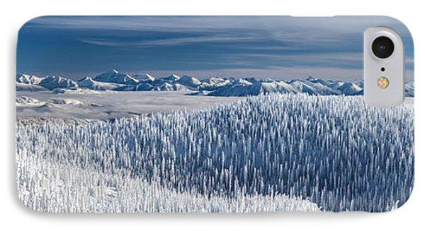 Rocky Mountain Winter IPhone Case by Aaron Aldrich