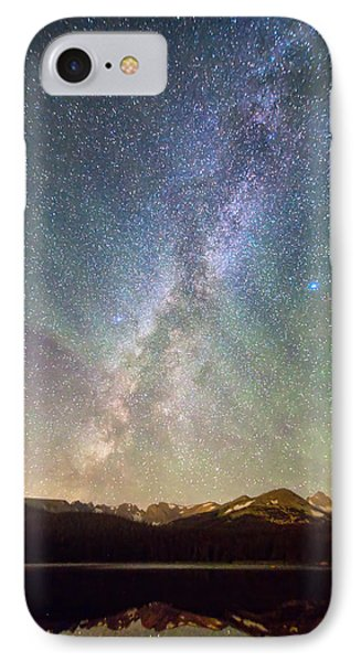 Rocky Mountains Indian Peaks Milky Way Rising IPhone Case by James BO  Insogna