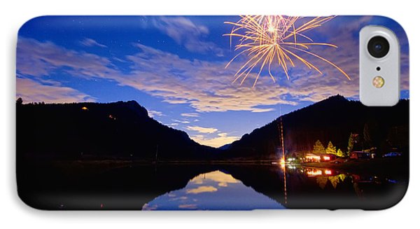 Rocky Mountains Private Fireworks Show Phone Case by James BO  Insogna