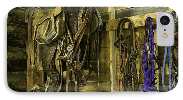Rocky Mt Tack Room IPhone Case