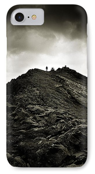 Rocky Pathway To Scotland IPhone Case by Lenny Carter