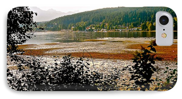 Rocky Point Port Moody IPhone Case by Sher Nasser