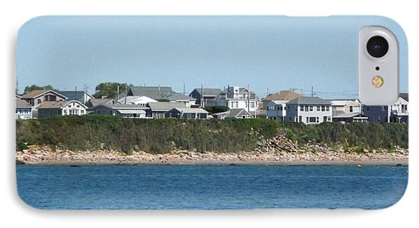IPhone Case featuring the photograph Rocky Rhode Island Coastline by Margie Avellino