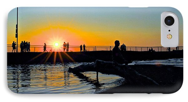 Rocky River Ohio Phone Case by Frozen in Time Fine Art Photography