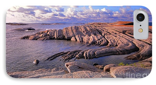 Rocky Shore IPhone Case by Charline Xia