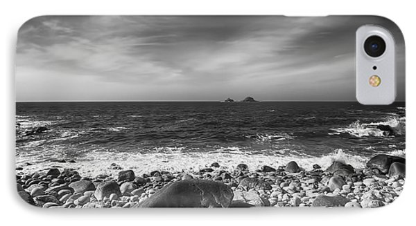 Rocky Shore Phone Case by Chris Thaxter