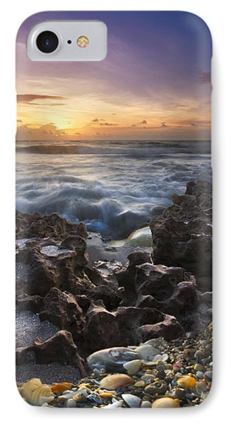 Rocky Shore Phone Case by Debra and Dave Vanderlaan