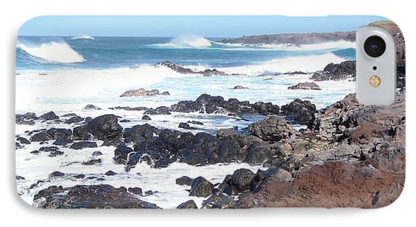 Rocky Shore IPhone Case by Sheila Byers