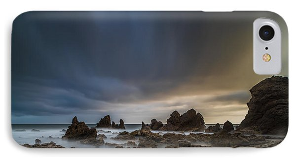 Rocky Southern California Beach 3 IPhone Case by Larry Marshall