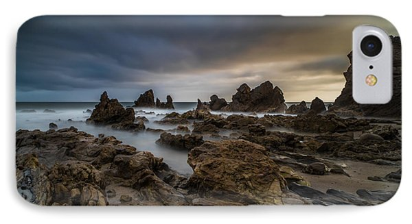 Rocky Southern California Beach 4 Phone Case by Larry Marshall