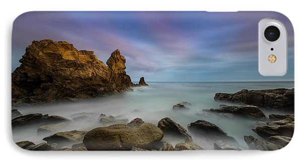 Rocky Southern California Beach Phone Case by Larry Marshall