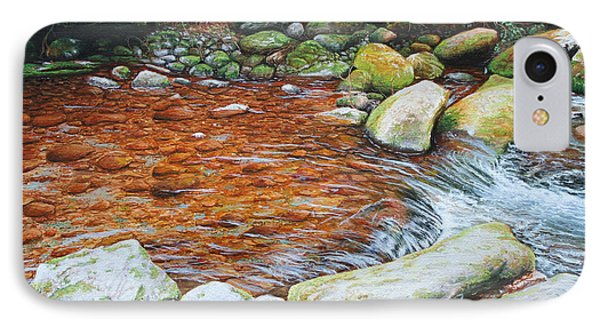 Rocky Stream IPhone Case by Mike Ivey
