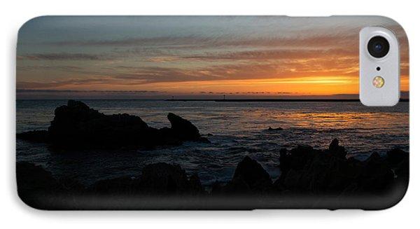Rocky Sunset At Corona Del Mar Phone Case by John Daly