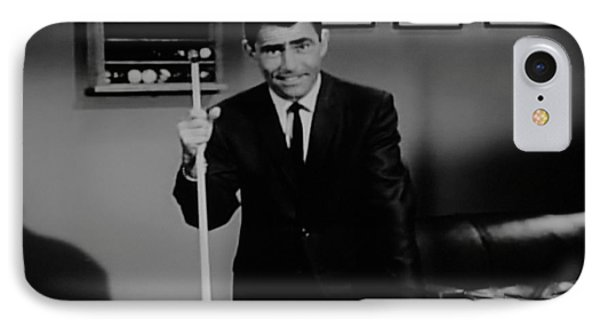 Rod Serling IPhone Case by Rob Hans