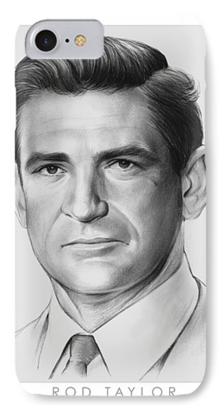 Rod Taylor IPhone Case by Greg Joens