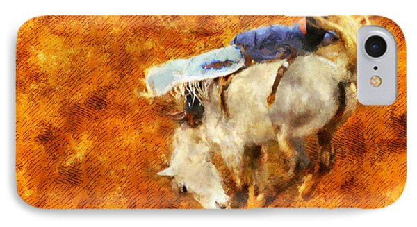 Eight-second Ride IPhone Case by Greg Collins