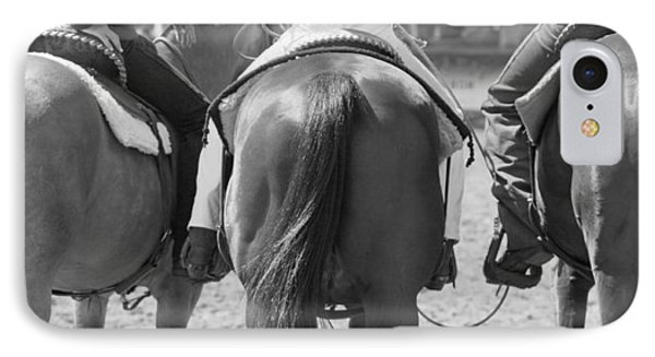 Rodeo Bums Phone Case by Michelle Wrighton