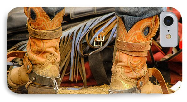 Rodeo Cowboy Tools Of The Trade Phone Case by Miki  Finn