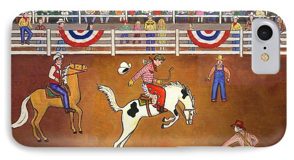 Rodeo One Phone Case by Linda Mears