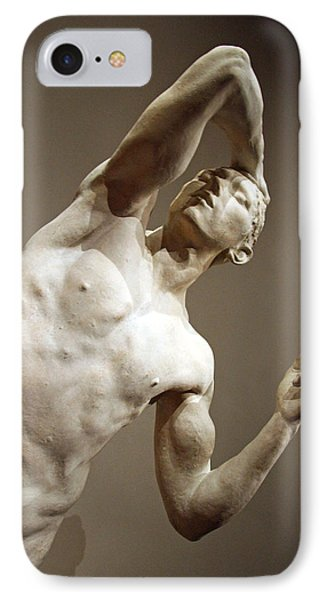 Rodin's Half Of The Vanguished IPhone Case by Cora Wandel