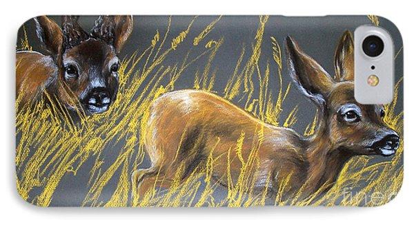 Roe Deer Phone Case by Angel  Tarantella